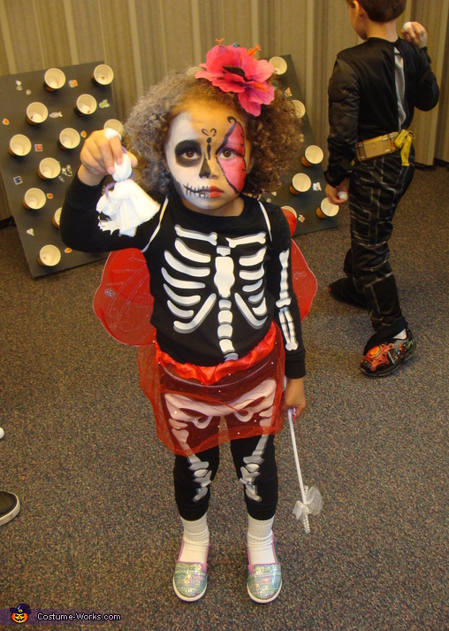 Mariah fairy skeleton, Fairy Skeleton Babies Costume
