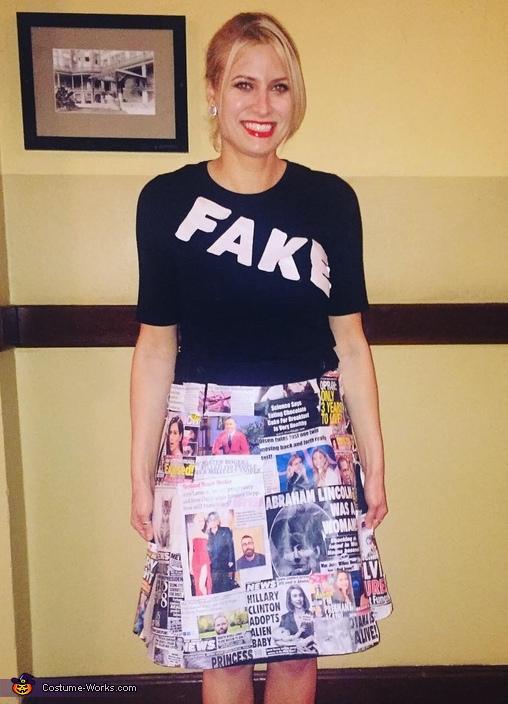Fake News Costume