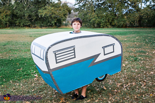Vintage Camp Trailer, Fall Camping Costume