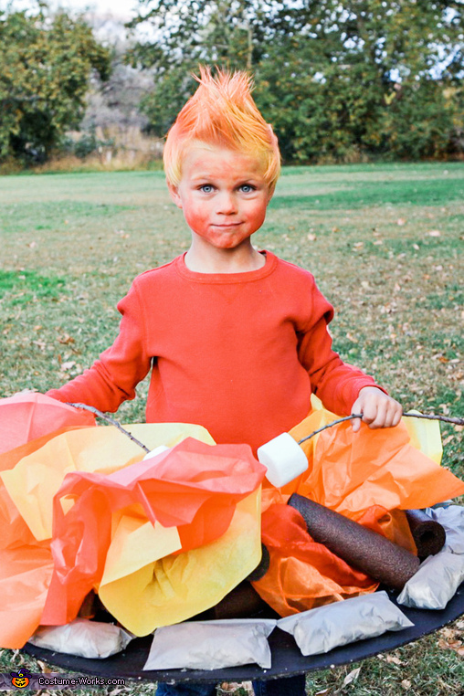 Campfire, Fall Camping Costume