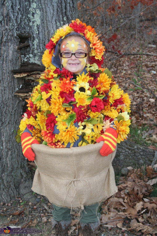 Fall Flowers Costume