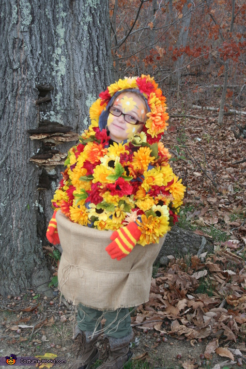 Get this over with, Fall Flowers Costume