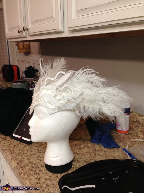 The headress, Fallen Angel Costume