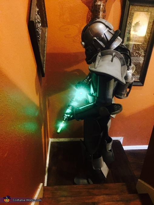 Fallout 3 Power Armor Homemade Costume