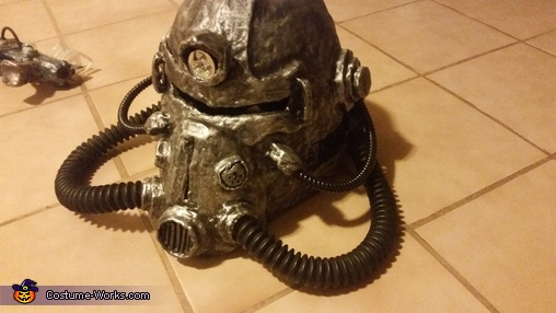 T-51 Power Helmet, Fallout Forever Costume