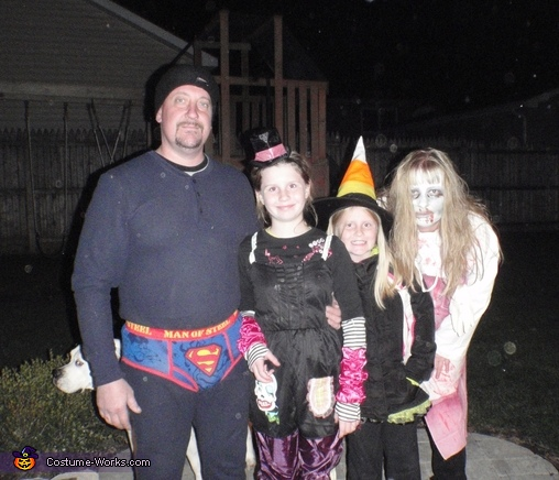 Halloween Family - Homemade costumes for families