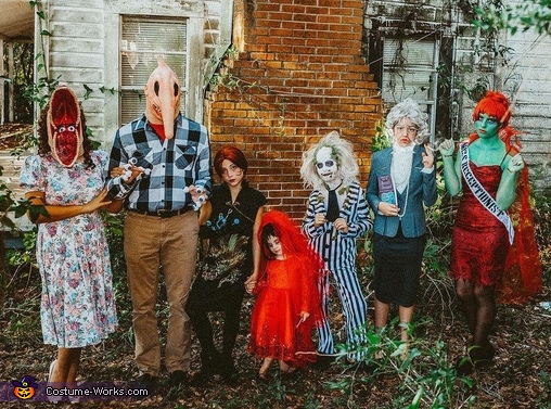 Family Beetlejuice Costume