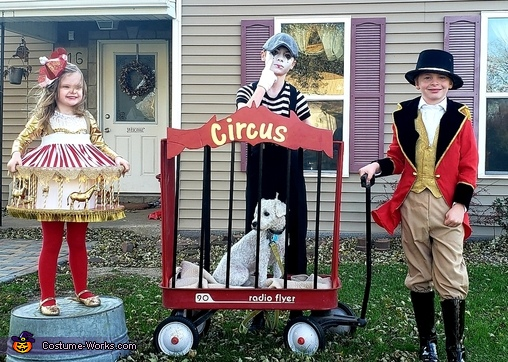 Family Circus Homemade Costume