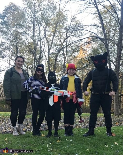 Family Fortnite Theme Costume