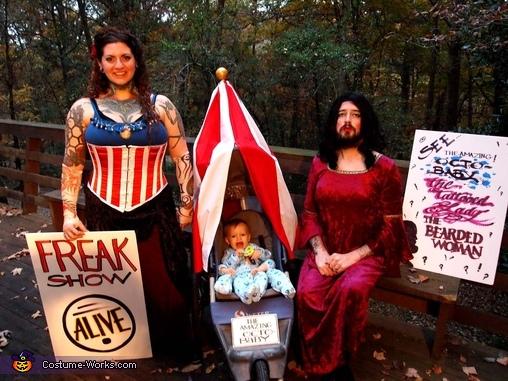Family Freak Show Costume