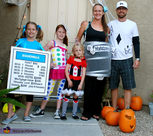 Family Game Night - Homemade costumes for families