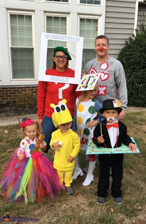 Family Game Night Costume