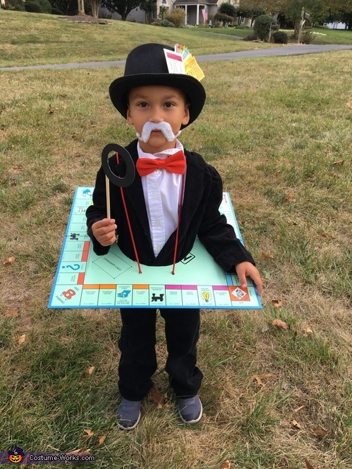 Family Game Night Homemade Costume