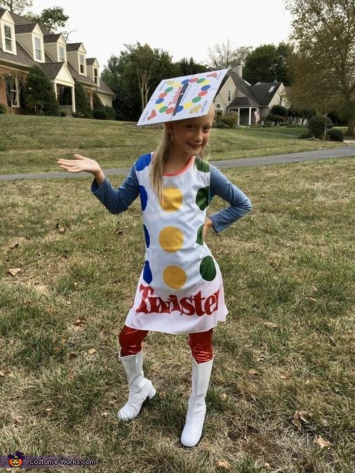 Family Game Night Homemade Costume
