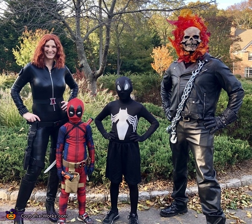 Family of Anti-Heroes Costume