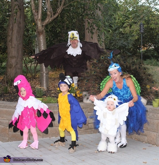 Family of Birds Costume