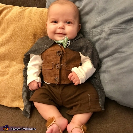 My chunky baby, Emmett., Family of Hobbits Costume
