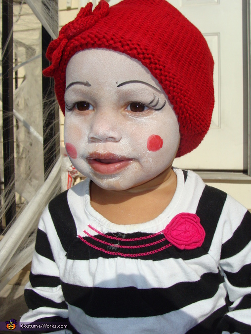 Baby Elena, Family of Mimes Costume