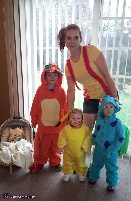 Family Of Pokemon Costume
