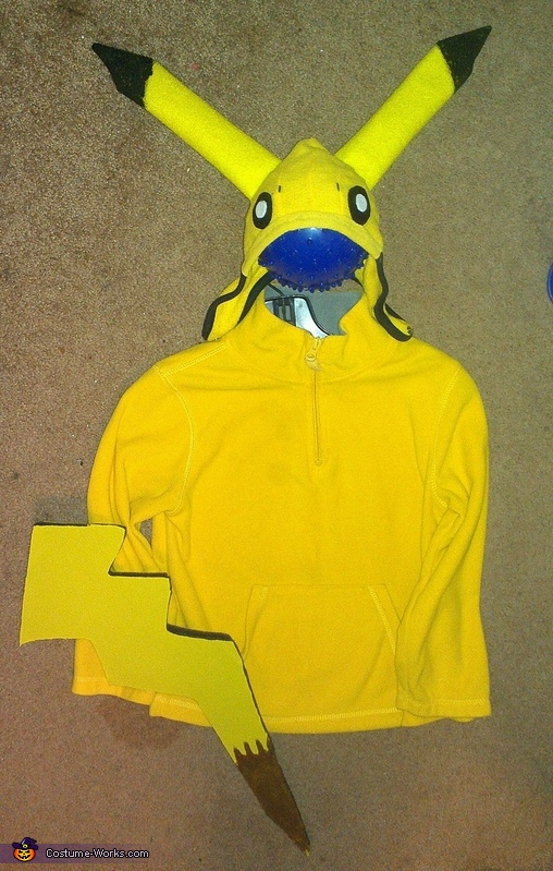 pikachu, Family of Pokemon Costume