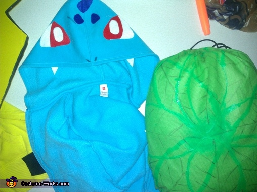 bulbasaur, Family of Pokemon Costume