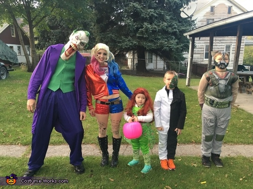 Family of Villains Costume