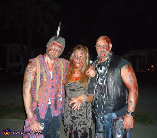 Zombie Family, Family of Zombies Costume
