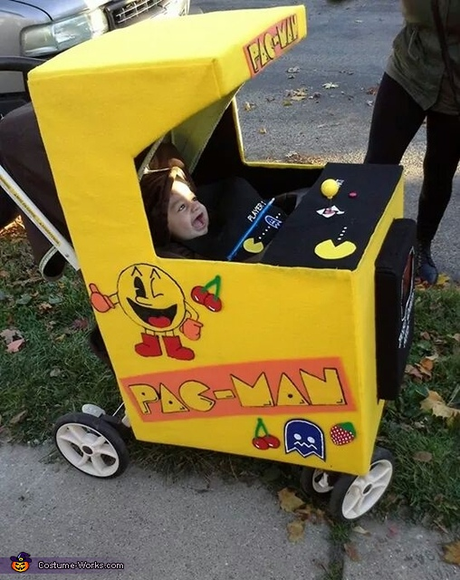Family Pac Man Homemade Costume