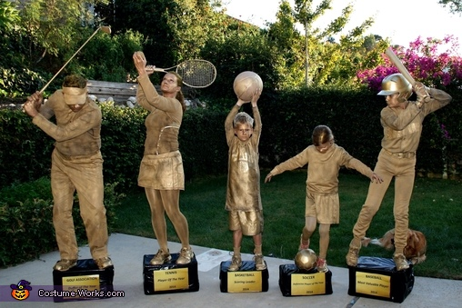 Family Trophy Shelf Costume