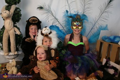 Family Zoo Homemade Costume