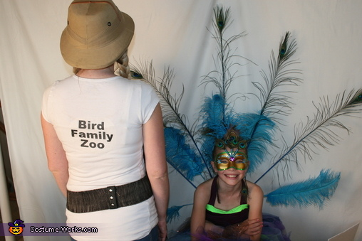 Family Zoo Homemade Costume