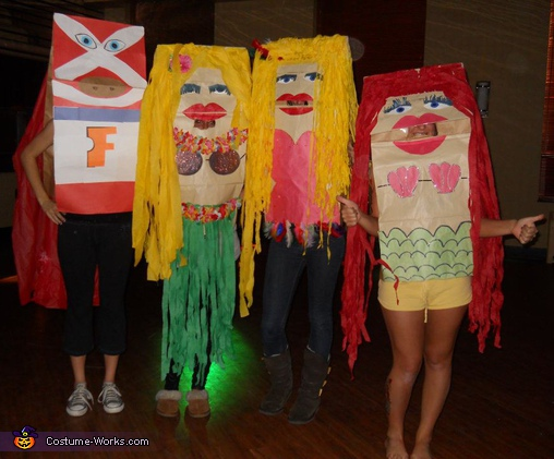 Fandango Puppets - Homemade costumes for groups