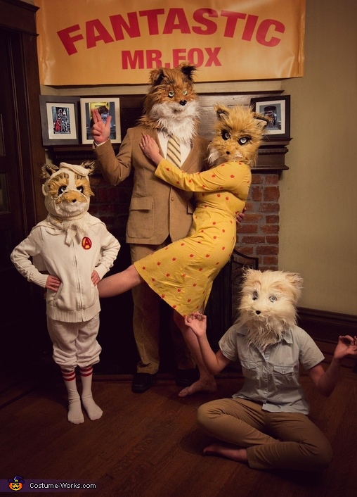 Fantastic Mr Fox Family Costume