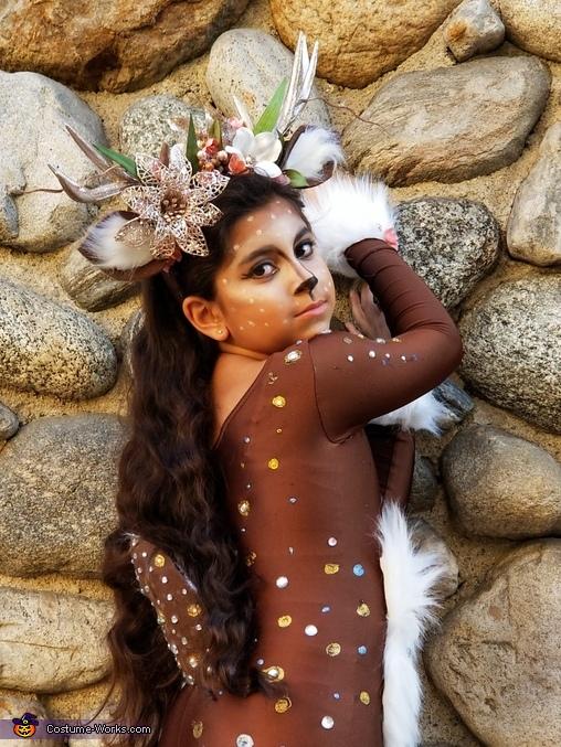 Fantasy Reindeer Homemade Costume
