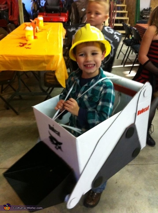 Farm Equipment Boys Costume