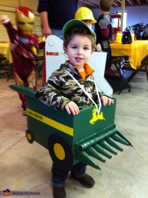 Combine, Farm Equipment Boys Costume