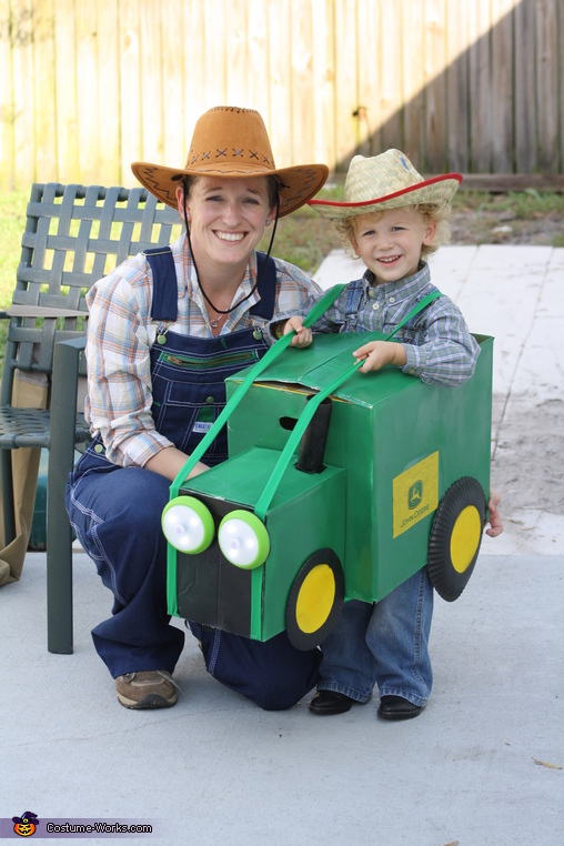 Farm Family Homemade Costume