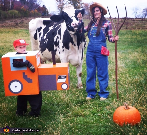 Farm Superhero Family Costume
