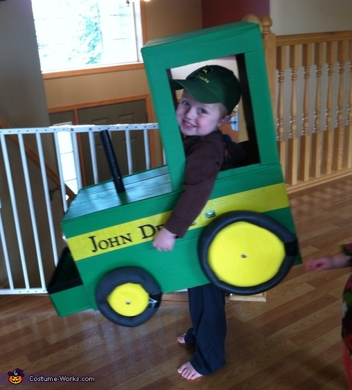 Farmer and his John Deere Costume