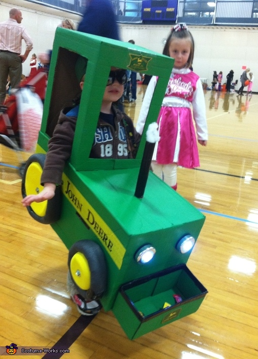 Farmer and his John Deere Homemade Costume