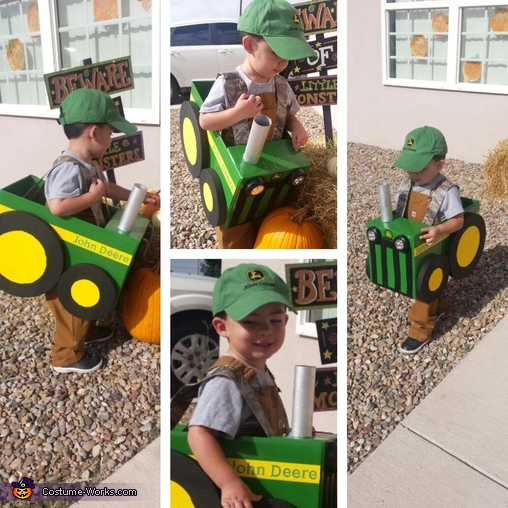 Farmer and his Tractor Costume