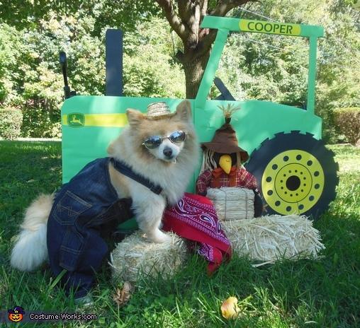 Farmer Pom Costume