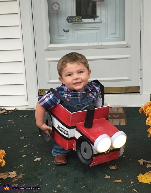 Farmer Colt with his Tractor Costume