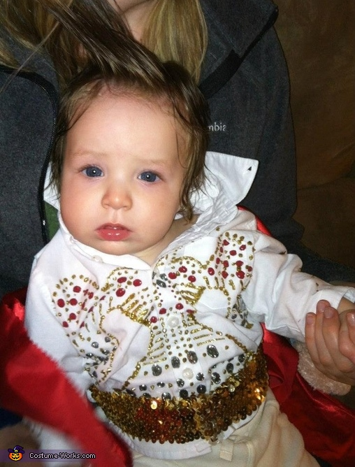 Elvis is tuckered out, Fat Elvis Baby Costume