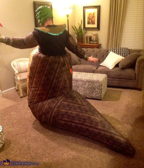 Fat Medusa ( Back ), Fat Medusa Costume
