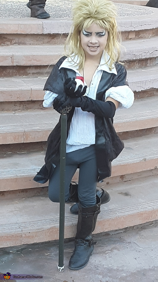 Jareth with his septor and crystal ball, Feature Premiere of the 21st centuries Labyrinth Costume