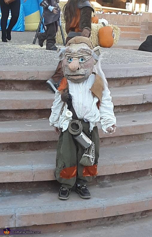 Meet Hoggle, Feature Premiere of the 21st centuries Labyrinth Costume