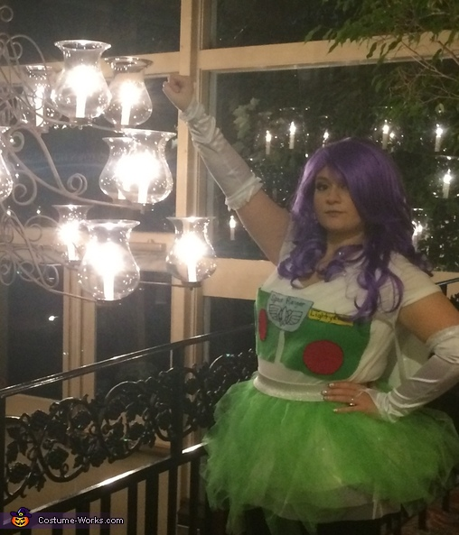 At the speed of light, Female Buzz Lightyear Costume