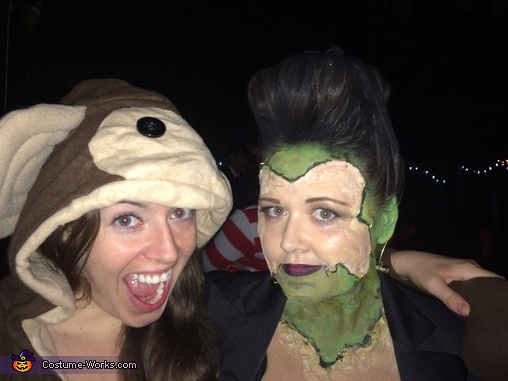 Me and a monkey!, Female Frankenstein's Monster Costume