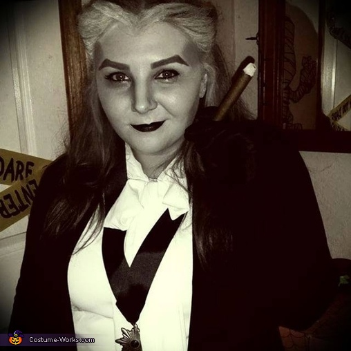 Female Grandpa Munster Costume